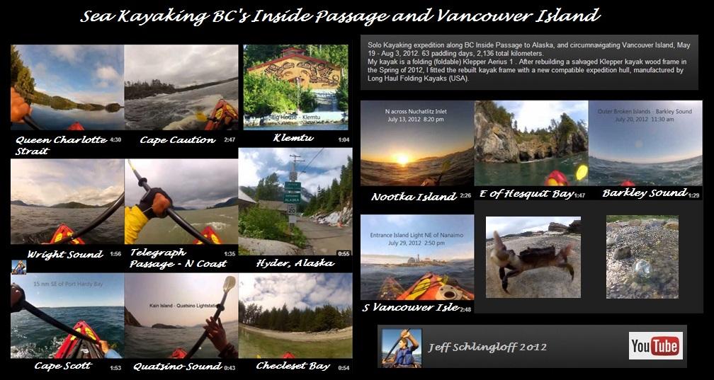Inside Passage solo route via East Vancouver